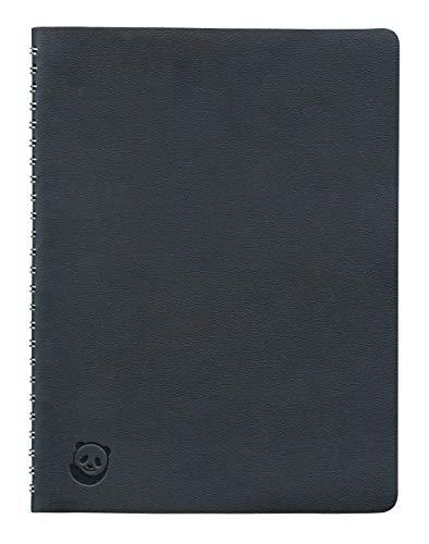 Quaderno A5 di SmartPanda - Nero, a Spirale, Brossura - A righe, Executive, 160 Pagine, 100 g/m²