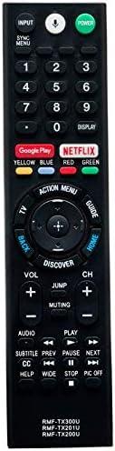 3IN1 RMF-TX300U TX200U TX201U Voice Remote Control fit for Sony 4K Smart LED HDTV XBR-65X850E XBR65X850E XBR-7