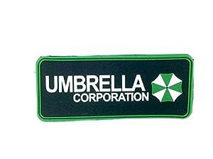 Umbrella Corporation Airsoft PVC Patch Vert