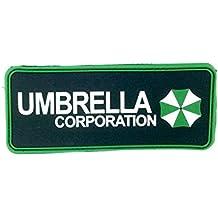 Paraguas Corporation PVC Airsoft parche de Velcro verde