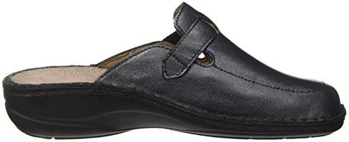 GRÜNLAND Ce0207, Pantofole Aperte sulla Caviglia Donna Grigio (Asfalto)