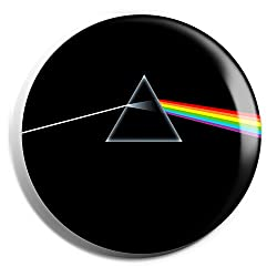 Pink Floyd Prism Badge (Offer: Buy 1 get 1)