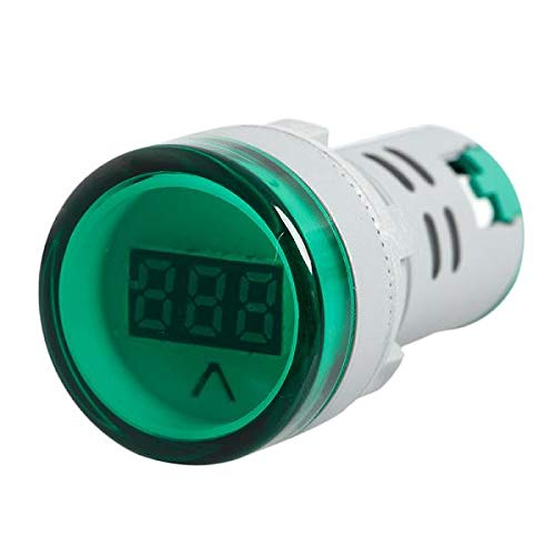 Besttse - Voltímetro digital AC 60V-450V (22 mm)