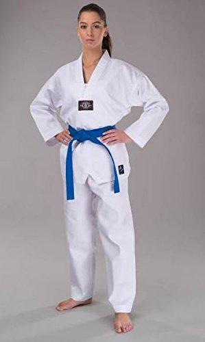 S.B.J - Sportland Taekwondo Anzug/Dobok Kampfsportanzug Basic ohne Rückenaufdruck 170 cm
