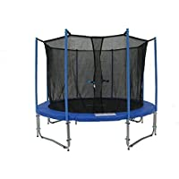 Preisvergleich für Exacme C14 6W Legs Trampoline with Enclosure Net & Ladder All-in-One Combo Set, 4.3m