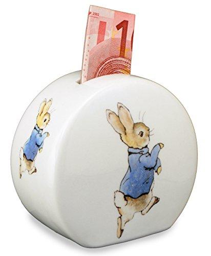 Peter-Rabbit-Porcelain-Round-Piggy-BankMoney-Box-by-Reutter-Porzellan-Perfect-for-Beatrix-Potter-Collectors
