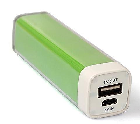 ORIGINAL G&P® - Chargeur de secours - Batterie externe - Power Bank Vert