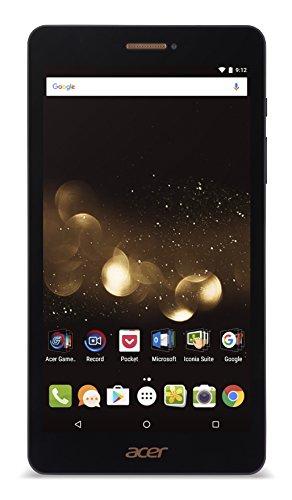 """Acer Iconia Talk S A1-734-K55J Tablet PC, Processore MTK MT8735, RAM DDR3L 2 GB, HDD 16 GB eMMC, Display 7"""" HD, Nero"""