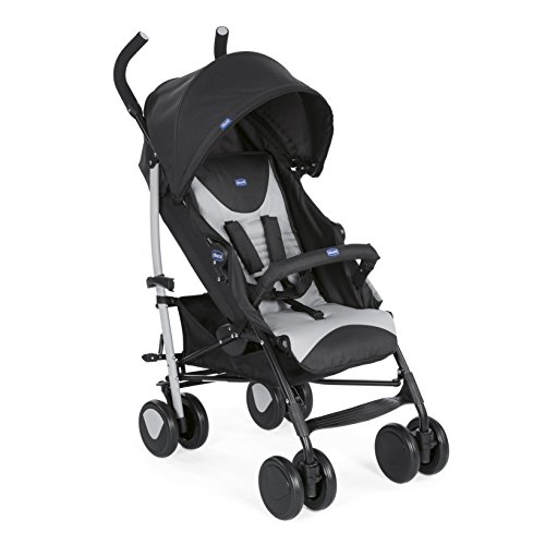 Chicco New Echo - Silla de paseo, ligera y compacta, 7,6 kg, color gris