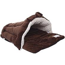 yunt cama Calefacción dormir para perro gato recubierto de tela Decor nudo mariposa Mignon, ...