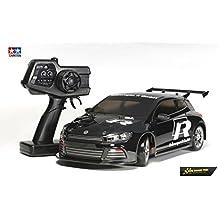 Dickie - Tamiya 300057883 - 01:10 XB VW Scirocco Drift Spec (TT-01D / E) Vehículos