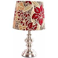 Lampada da tavolo in metallo–Modello Floreale, 25x 42cm