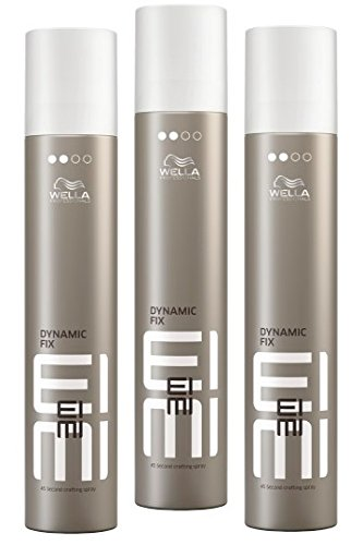 Wella EIMI Dynamic Fix - 45 Seconds Styler Haarspray SET 3 x 300ml