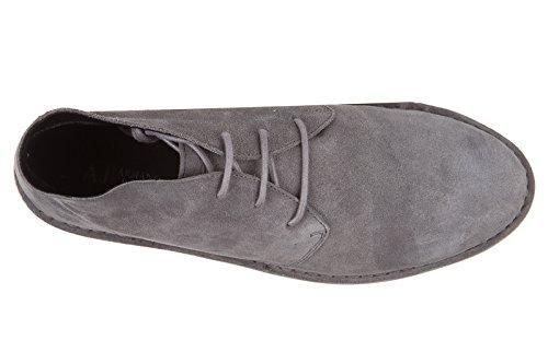 Armani Jeans 935056cc510, Derby homme Grau (FROST GREY 11541)