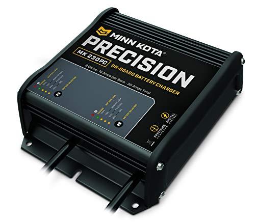 Minn Kota MK 212PC Precision On-Board 2-Bank Ladegerät, 6-amp Minn Kota-board-batterie-ladegerät