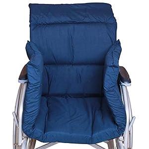 Rollstuhl Polster Winter T-Förmiges Kissen Für 45Cm Standard-Rollstühle Komfortabel Weich Und Warm