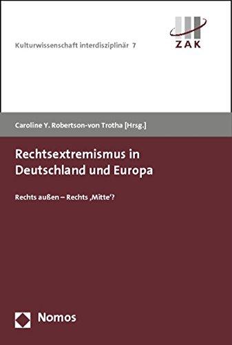 Rechtsextremismus in Deutschland und Europa: Rechts außen - Rechts 'Mitte'?