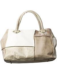 Sac à main pour femme - Mjus - Noce beige - Nouveau modele 2017 - de cuir véritable