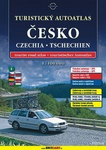 Cesko - turisticky autoatlas 1:100.000 spiral: Shocart Atlas