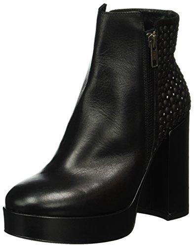 LEA FOSCATIWENGEN - Stivali bassi con imbottitura leggera Donna , Nero (Schwarz (NERO+NERO)), 36 EU