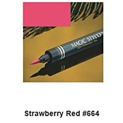 3D+Beauty Magic Stylo Semi Permanent Makeup Pen (Strawberry Red)
