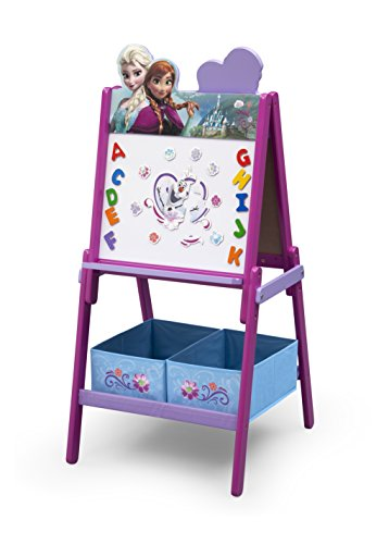 Delta Children - TE87579FZ - La Reine des Neiges - Tableaux avec Chevalet en Bois