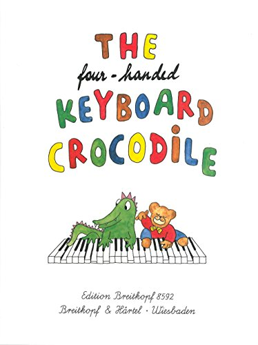 The Four - Handed Keyboard Crocodile Clavier