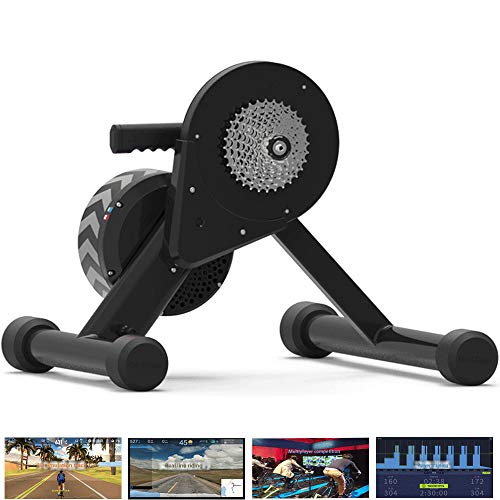 HBRT Smart Trainer, Bike Trainer Ständer Virtual Reality Pisten Simulation Real Road Feel Support Multiplayer Riding Online-Wettbewerb -