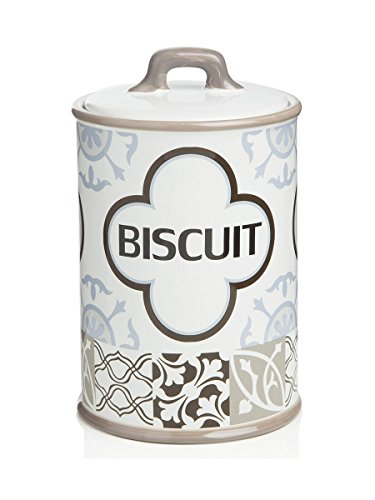 Embout pot a' biscuits gre's Arabesque 13 X 13 X 20 cm