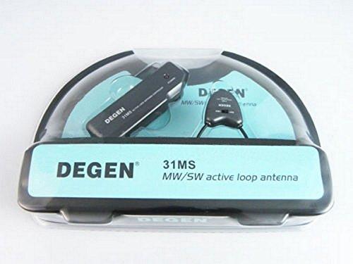 Degen 31MS MW/SW active loop antenna