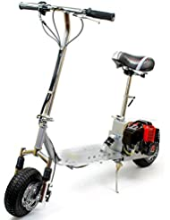 Micro Trottinette À Essence Budget de 49cc Avec Suspension
