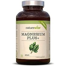 Magnesiumcitrat [ 700 mg pro Kapsel ] - 200 Stück. Frei von Zusatzstoffen wie Gelatine oder Magnesiumstearat. Laborgeprüft, hochdosiert.