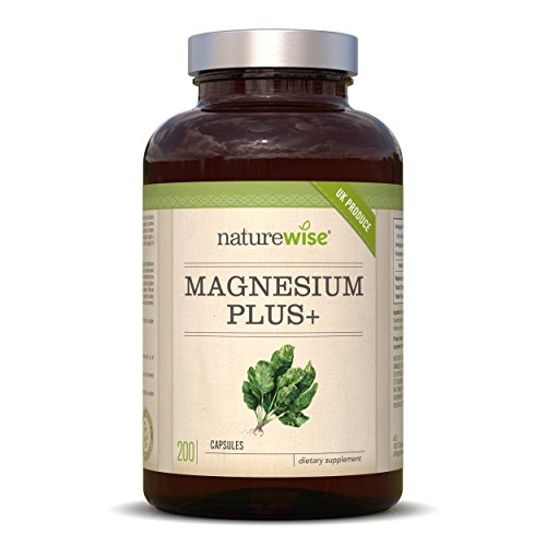 Magnesium citrate 700 mg per capsule | 200 capsules | Free from additives such as gelatin or magnesium stearate | Laboratory tested, high doses | Manufactured in the UK. ...
