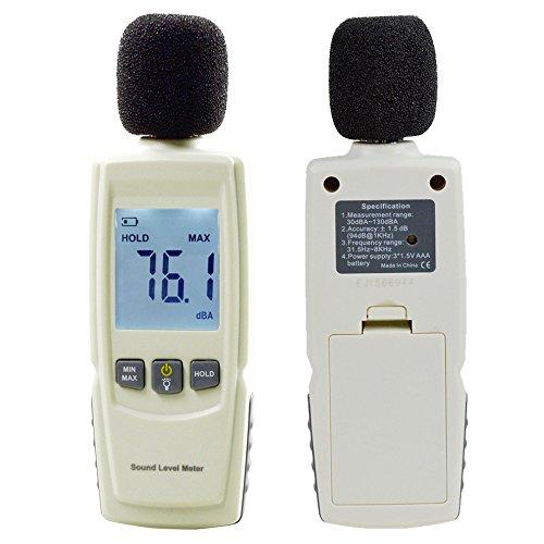 luxtech misuratore di livello sonoro misurazione del suono lcd misuratore di livello sonoro digitale di alta qualità noise engineering controllo di qualità prevenzione della salute 30~130dba precisione: ± 1,5 db. risposta in frequenza: 31.5hz~8khz