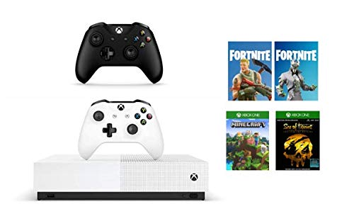 Xbox One S All-Digital Edition (Xbox One) + Black Controller