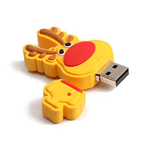 Exing USB-Speicherstick (16 GB, 32 GB, 64 GB, Weihnachtsgeschenk) 16g - 16g 16 Gb Usb