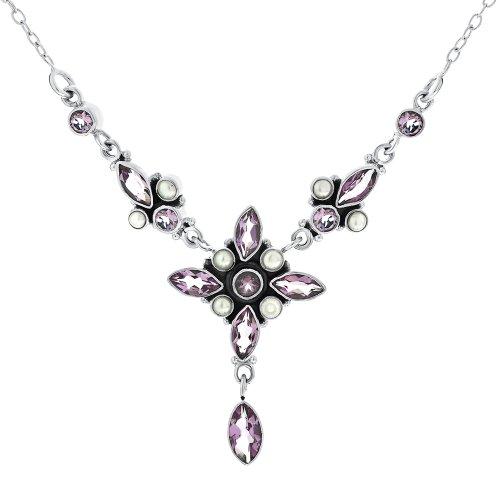 Collier - B03/NS5252AMFP - Collar de mujer de plata de ley con...