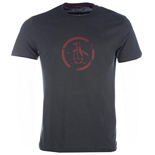 mens-original-penguin-mens-distressed-circle-logo-t-shirt-in-charcoal-xl