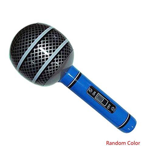 Sunlera Decorazione del Giocattolo Colore Casuale Microfono Chitarra Sassofono Radio a Forma Gonfiabile Musical Instrument Partito di Festa