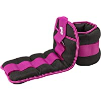 REEHUT Ankle Weights, Durable Wrist Weight 1 Pair Adjustable Strap for Fitness, Exercise, Walking, Jogging, Gymnastics, Aerobics, Gym