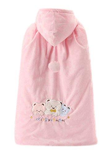 Baby-Mantel-Fall-Winter-Fonds starke warme Baumwolle Schal tragen Muster rosa