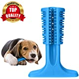 PetVogue Upgrade Safe and Durable Natural Rubber Effective Care Oral Cavity Tooth Cleaning Stick/Toothbrush for Small and Medium Dog (Large)