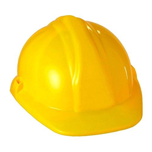Bauhelm Bauarbeiter Helm gelb Bauarbeiterhelm Baumeister Schutzhelm Handwerker -