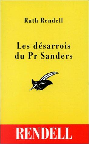 Les désarrois du Pr Sanders par Ruth Rendell