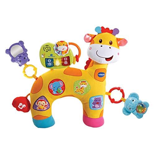 Vtech 80-506804 Baby 80-506804-Giraffenkissen, Kleinkindplüsch, bunt -