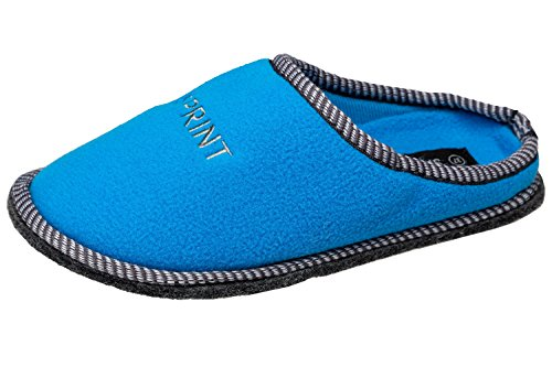 Pantofole Da Donna Gibra® Con Suola In Feltro E Protuberanze, Art. 3606, Blu, 36-42 Blu Blu