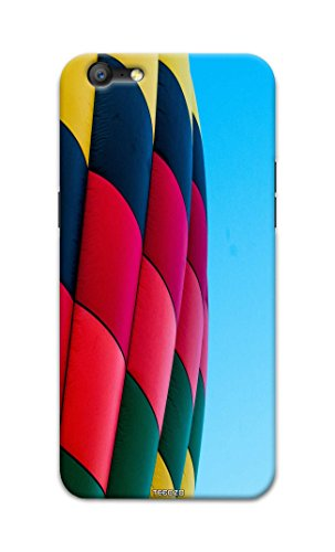 Tecozo Designer Printed Back Cover / Hard Case for Oppo A39 (Hot air balloon Design/Colourful) - Multicolor - D286  available at amazon for Rs.259