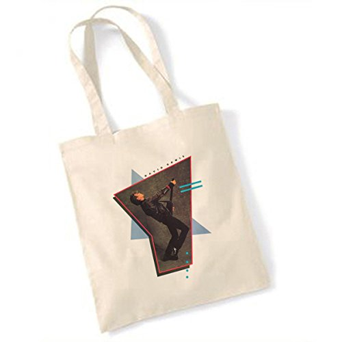 Price comparison product image David Bowie Headless Guitar Natural Tote Bag