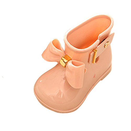 Clode® for 0-4 Years Old Baby Girls, Fashion Cute Baby Girl Waterproof Shoes Children Bowknot Rain Boot