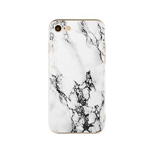 Schutzhülle iPhone 7Plus Schutzhülle étui-case transparent Liquid Crystal TPU Silikon klar, Schutz Ultra Slim Premium, Schutzhülle Prime für Iphone 7plus-marbre 21